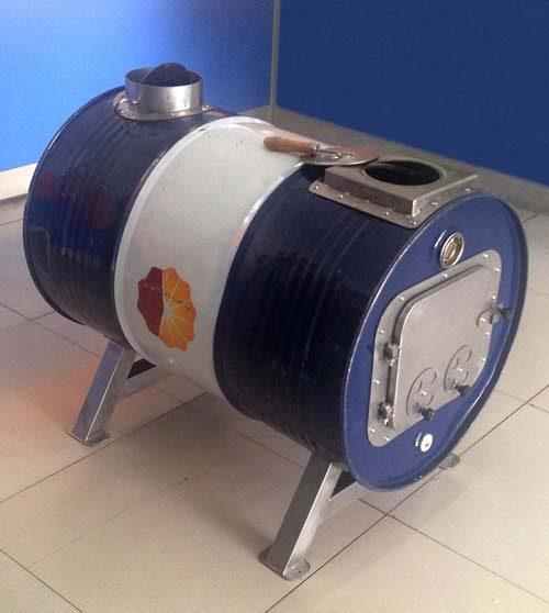 Barrel Stove Kit Demo